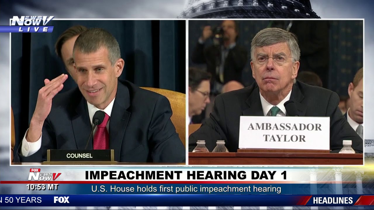 GOP lawyer Stephen Castor brings papers to impeachment hearing ...