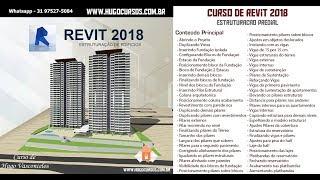 Estruturação de Edifícios Revit 2018 - Aula 07 - Posicionando bloco da fundação