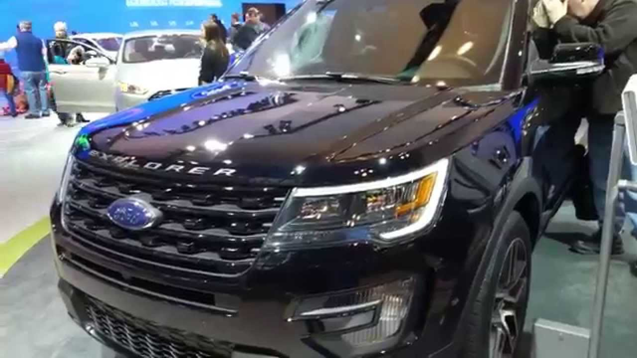 2016 ford explorer sport 4wd youtube. Black Bedroom Furniture Sets. Home Design Ideas