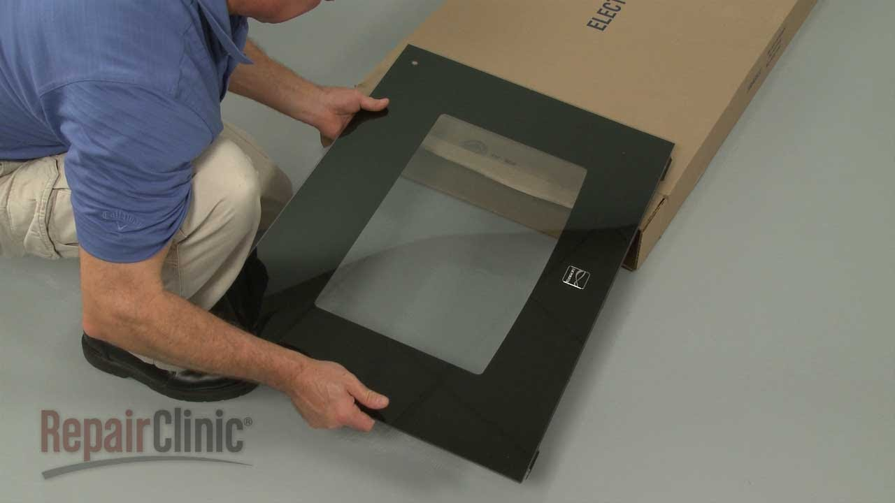 kenmore electric oven outer door glass replacement 318304124 [ 1280 x 720 Pixel ]