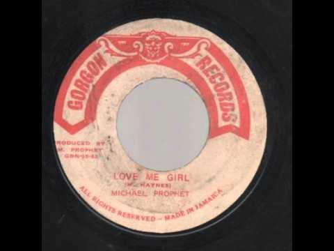 Michael Prophet - Love Me Girl - 7 inch / Gorgon Records