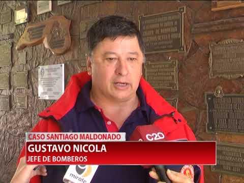 CASO SANTIAGO MALDONADO BOMBERO LOCAL COORDINO LA BUSQUEDA DEL MARTES