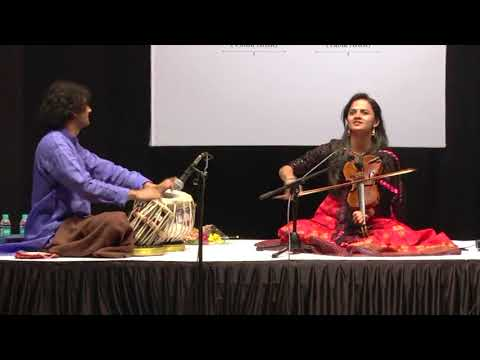 Raga Devgiri Bilaval (Madhyalay & Drut) - Nandini Shankar & Ojas Adhiya - Indian Violin - Part 2 Mp3