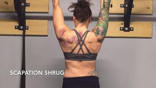 Scapation Shrugs