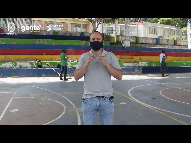 Intervención polideportivo del barrio El Tejar