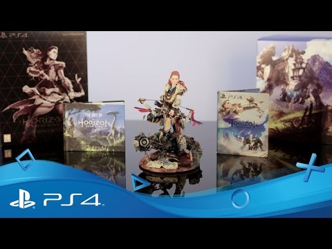 Horizon Zero Dawn | Collector's Edition First Unboxing | PS4