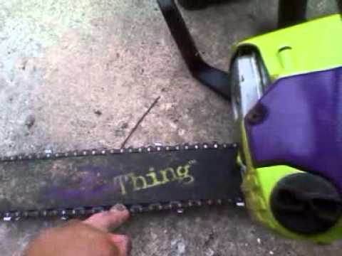 poulan wild thing chainsaw
