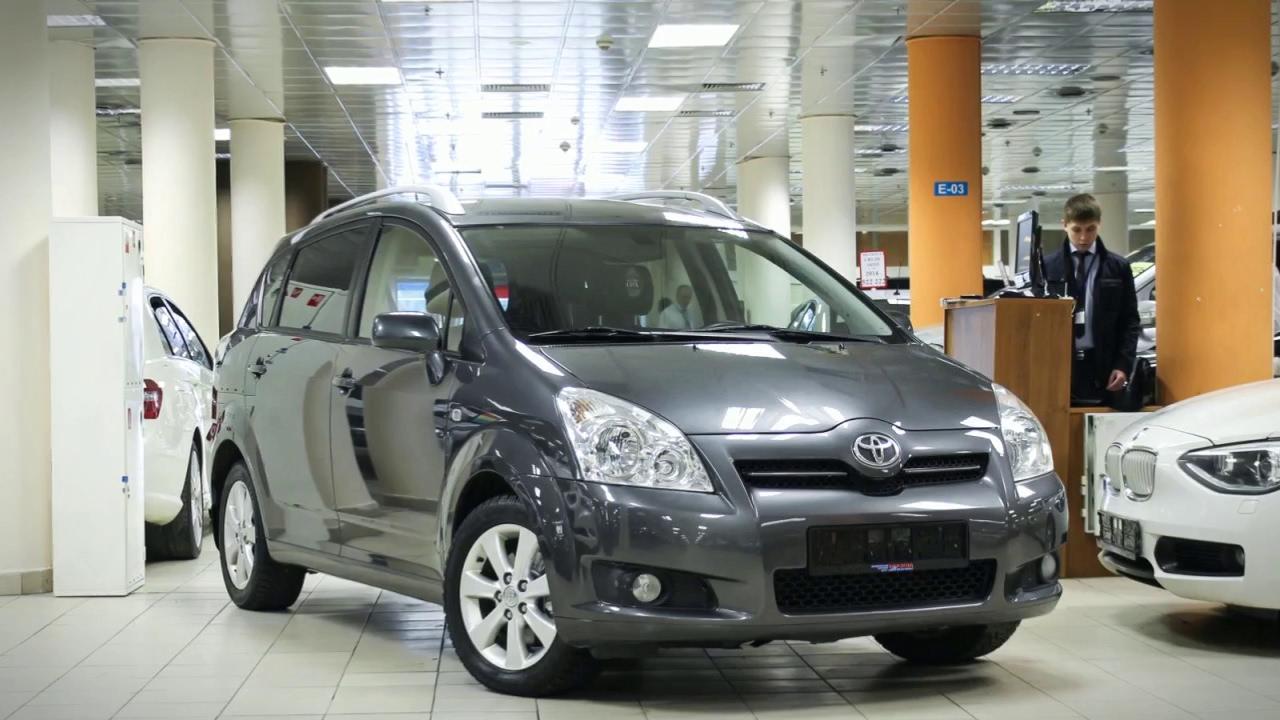 Обзор Toyota Verso - YouTube