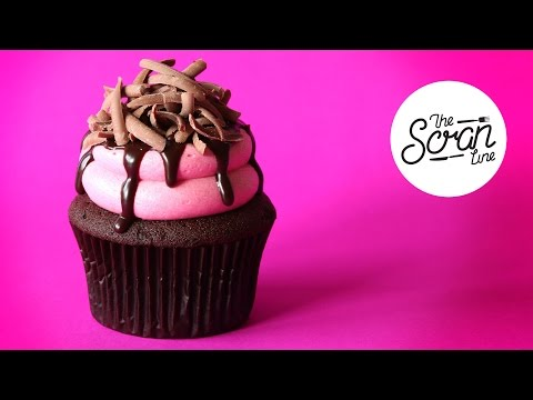 BLACK FOREST CUPCAKE - The Scran Line - 동영상