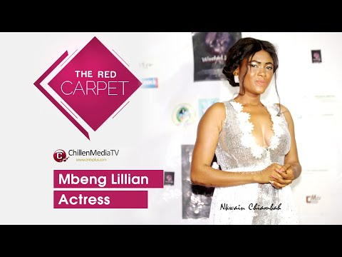 Mbeng Lillian On The Red Carpet CMTV | Wasted Years Movie Premier