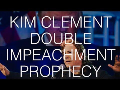 Kim Clement Prophesied Trump's Double Impeachment Attempt