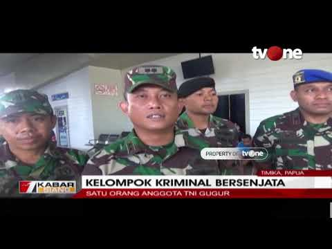 Baku Tembak Terjadi di Sekitar Bandara Mapenduma, Papua, Satu Anggota TNI Gugur
