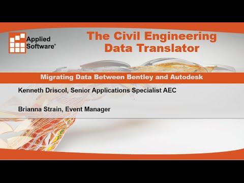 The Civil Engineering Data Translator: Migrating Data Between Bentley and Autodesk