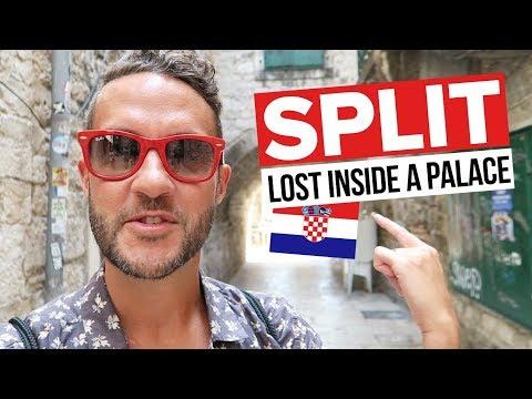 Lost Inside DIOCLETIAN'S PALACE in Split, Croatia