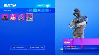 DÉBLOQUER THE NEW STYLES OF IKONIK SKIN on FORTNITE. (Ps4,Xbox,Pc,Switch,Mobiles)