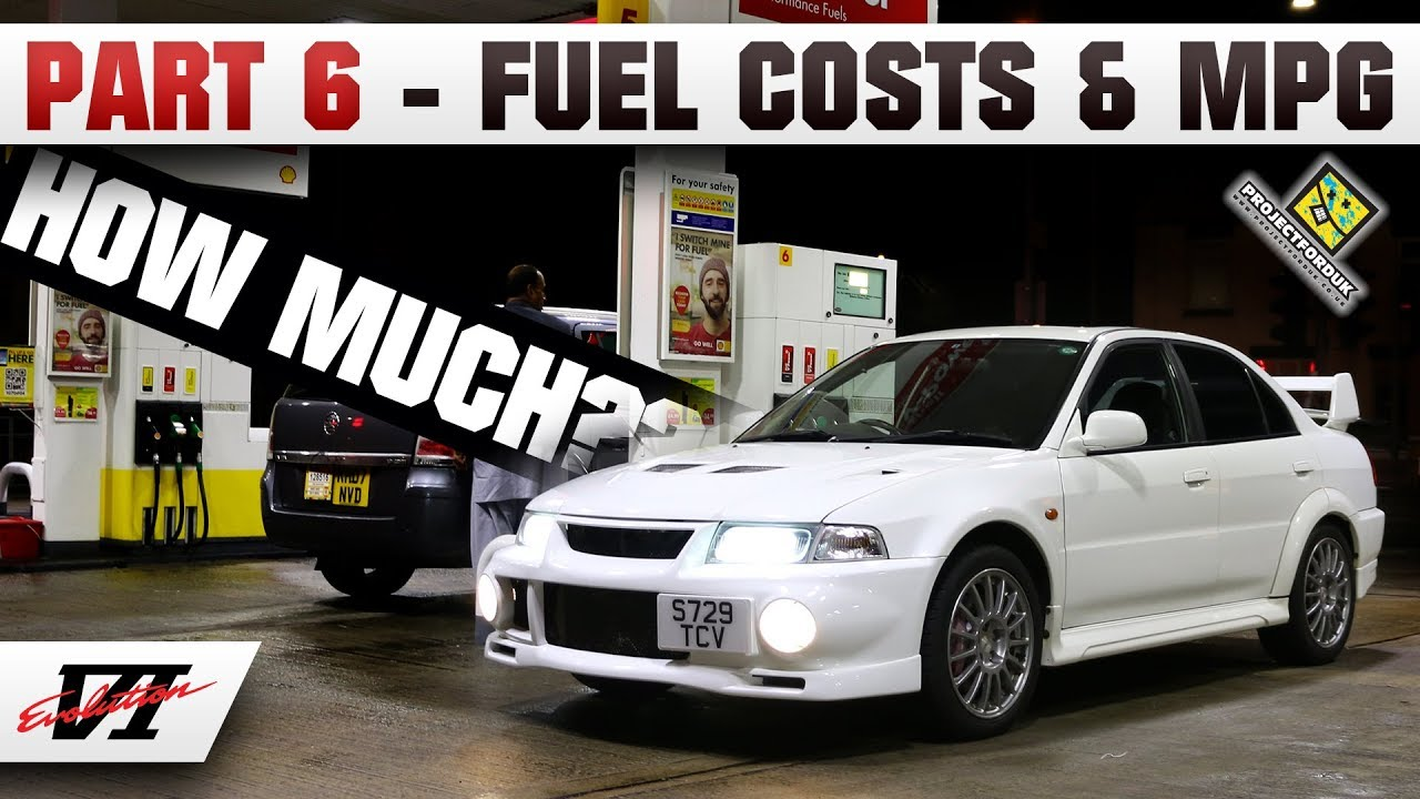 Part 6 - What MPG Do I Get Out Of The Evo 6 - JDM