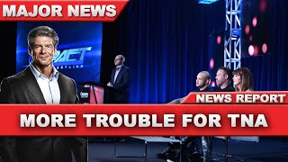 More Troubles for TNA Impact Wrestling!