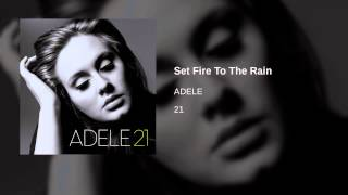 Cover images ADELE - Set Fire To The Rain
