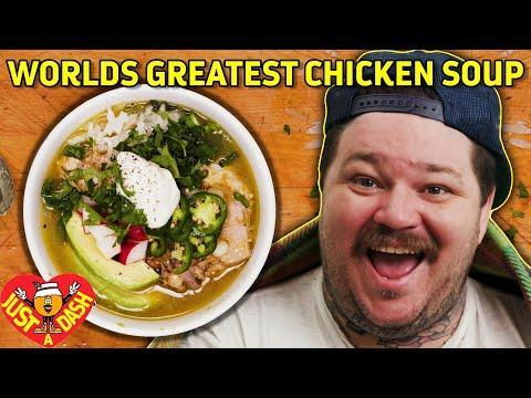 Worlds Greatest Chicken Soup | Pollo Verde | Matty Matheson | Just A Dash | EP 6