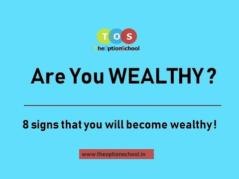 Are you wealthy ? -  Let's talk about options trading - The  Option School (21st May)