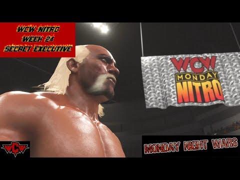WWE 2K18 WCW NITRO WEEK 24 SECRET EXECUTIVE MONDAY NIGHT WARS UNIVERSE