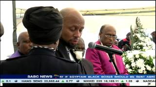 Calls for fight against drugs at Zinde's funeral
