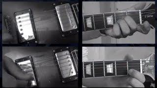How to Play Rain Beatles Guitars Lesson Tutorial