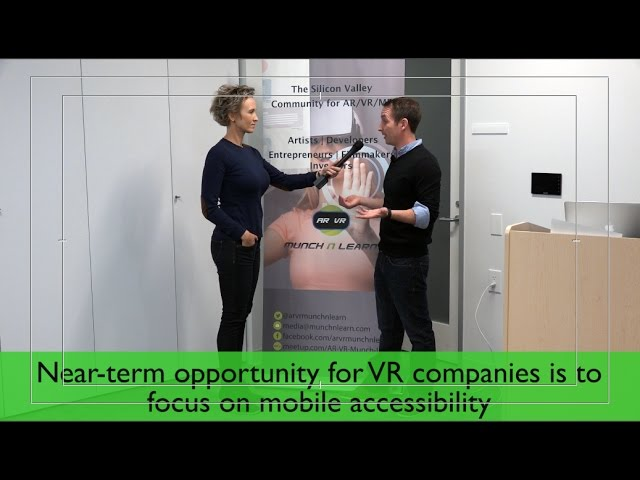 Mike Boland's interview about VR AR industry in 2017