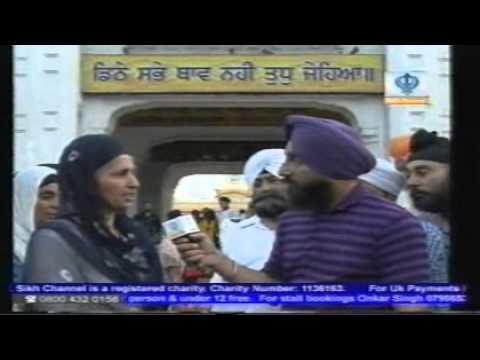 Bibi PRITAM Kaur Ji (Supatni Shaheed Bhai Rashpal Singh) abt 1984: Dr. Sukpreet Udhoke 06.06.2011