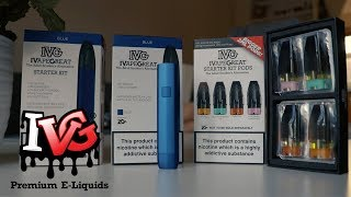 #eliquidreview #podsystem #ivgivg starter kit | disposable pod system. ivg have just released there very own system and i'm excit...