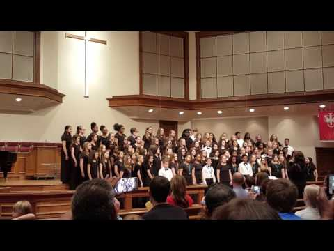 Elmore Park Middle School Choir Springs Concert 2016
