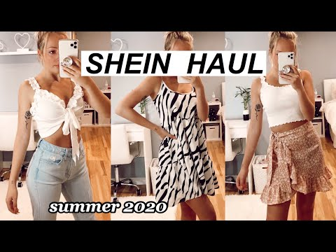 SHEIN TRY ON HAUL Summer 2020 Haul And Review!