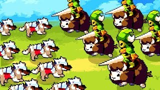 Pack of Armored Russian Dogs Fight Crazy Bear Cavalry in Wargroove!
