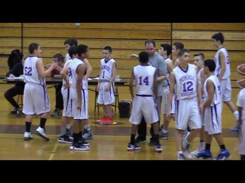 Monroe-Woodbury Crusaders vs. Pine Bush Basketball 12-13-16