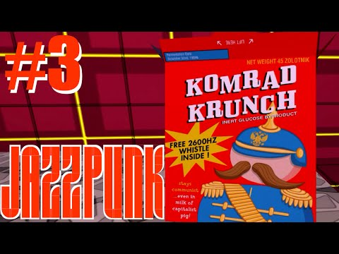 Komrad Krunch | Jazzpunk | Part 3