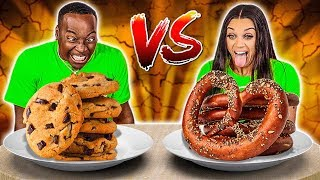 Download SALTY VS SWEET FOOD CHALLENGE Mp3 and Videos