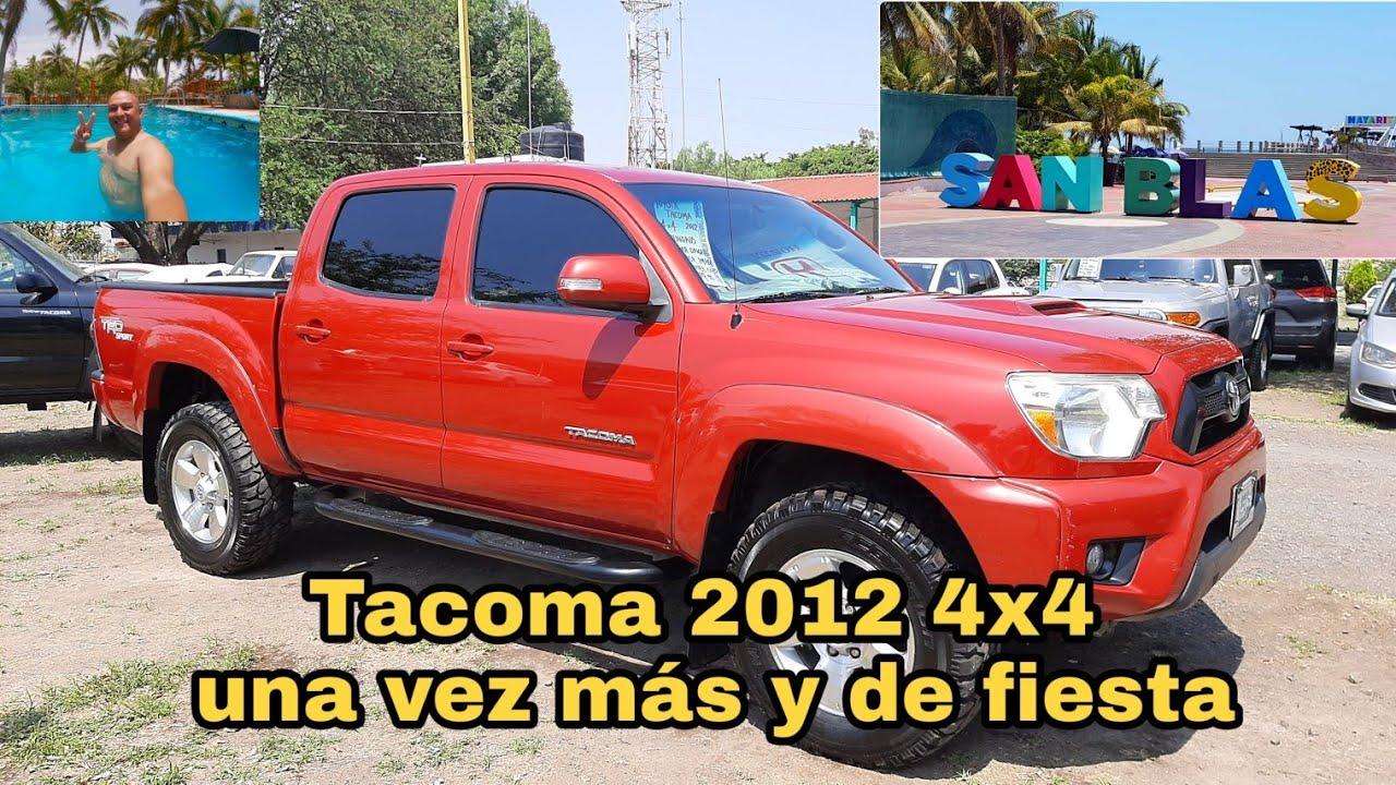 tacoma 2012 4x4 visitando San Blas nayarit Nayarit de fiesta