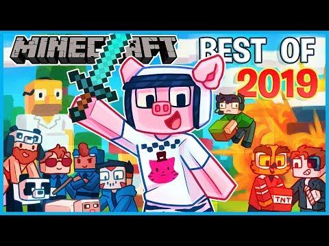 MINECRAFT - BEST OF 2019 (I AM WILDCAT & FRIENDS Funniest Moments)