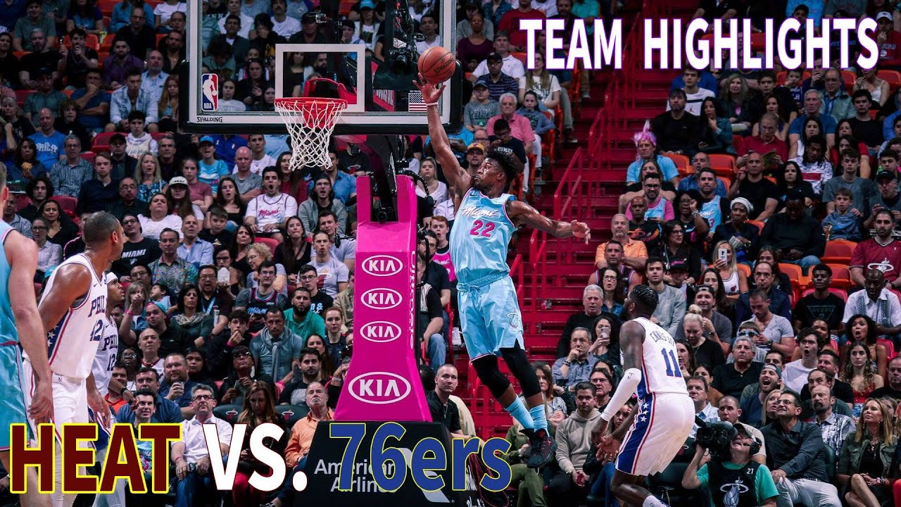Team Highlights -HEAT VS 76ers | December 29, 2019 - YouTube