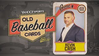 Rays Manager Kevin Cash Talks About His Card Collection Worth Up To $160k | Old Baseball Cards