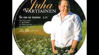 Juha Vartiainen: Se on se tunne