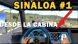 SINALOA #1 | Mapa Mexico ATS | Los Mochis desde Navojoa, dentro de la cabina!