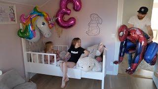 chloe fyller 3 år önskar sig spiderman och en traktor  -  VLOGG