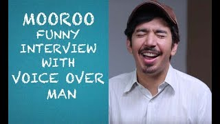 Mooroo funny interview with Voice Over Man Episode #25