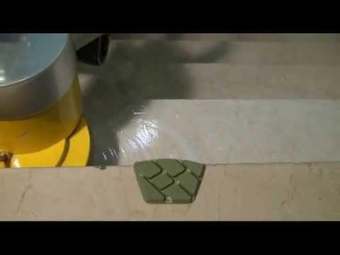 Como pulir y abrillantar escaleras de marmol youtube for Limpieza de marmol