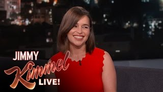 Download Emilia Clarke Can Talk Like a Valley Girl Mp3 and Videos