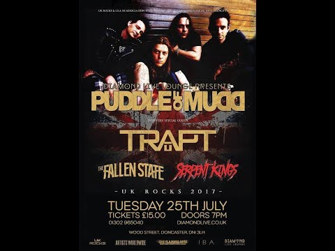 Puddle of Mudd - Doncaster, England - Full Concert - July 25, 2017