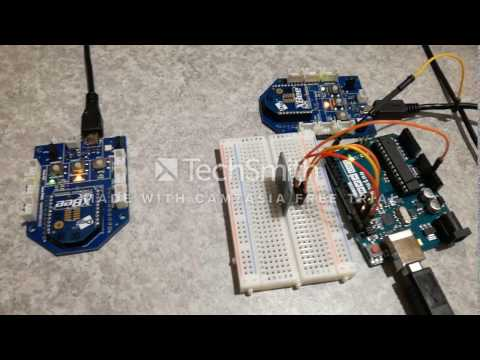 Arduino+XBee: Transfer Temperature From Router To Coordinator!