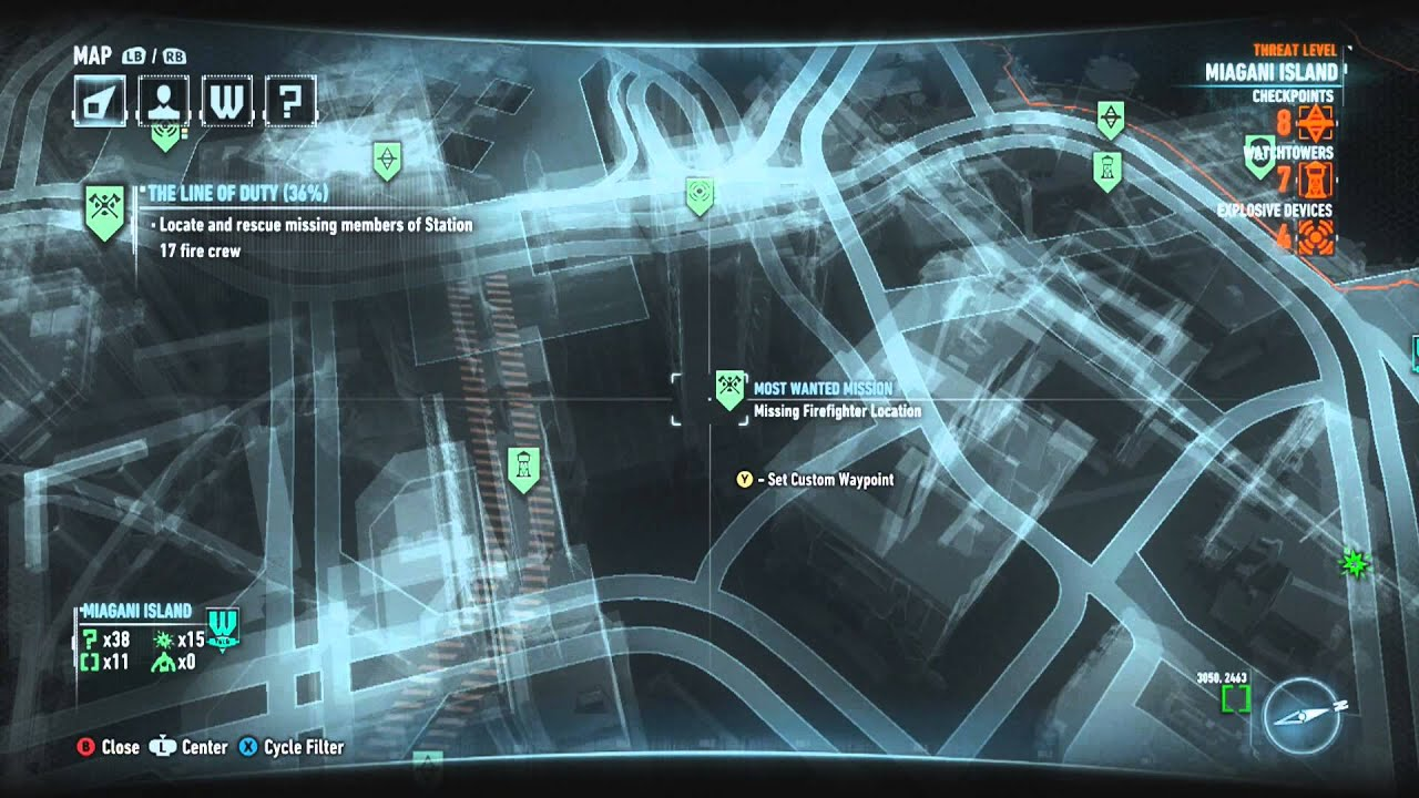 Batman Arkham Knight Firefly Locations Miagani Island