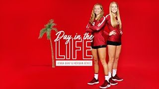 Stanford Women's Volleyball: Day in the Life | Jenna Gray and Morgan Hentz
